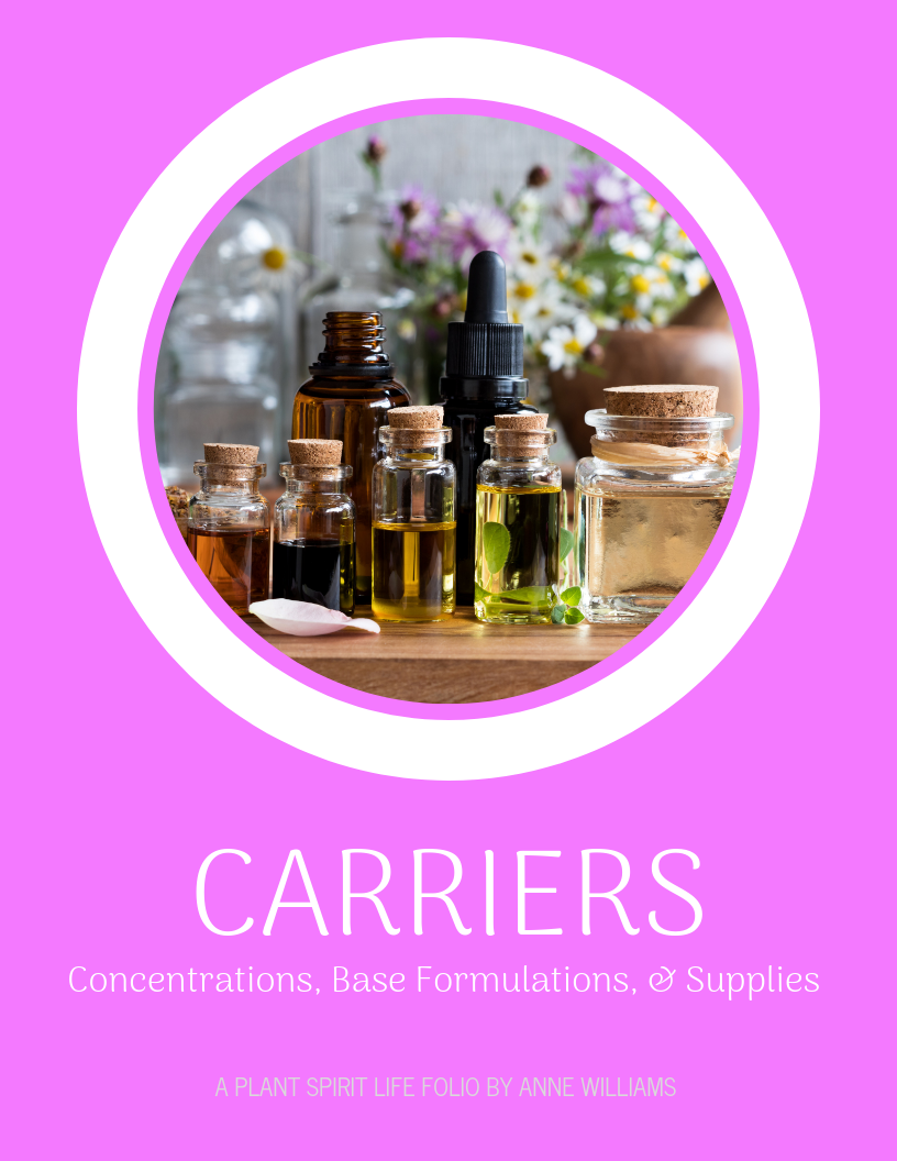 Carriers, Concentrations, Base Formulations, and Supplies – Plant